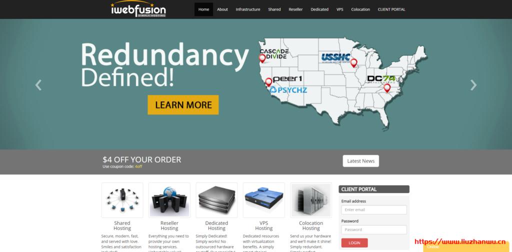 #黑5# iwebfusion:$35给e3-1230v6+16G内存+2T硬盘,$160给4*e5-4870+512G内存+2T硬盘-艾博网